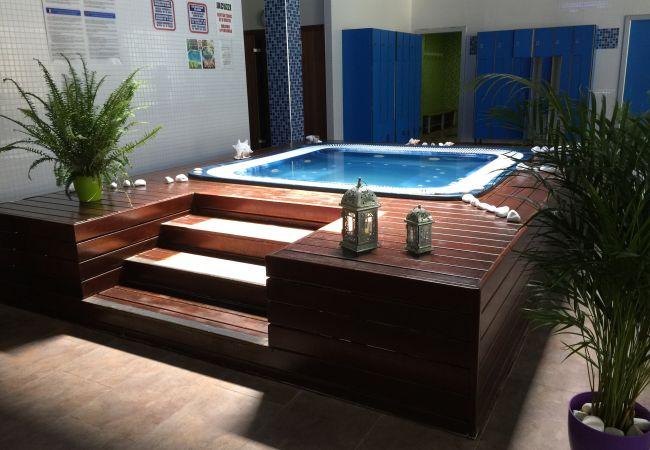 Apartamento en Salou - Magnífico Apartamento de 2 habitaciones con vistas al jardin y piscina