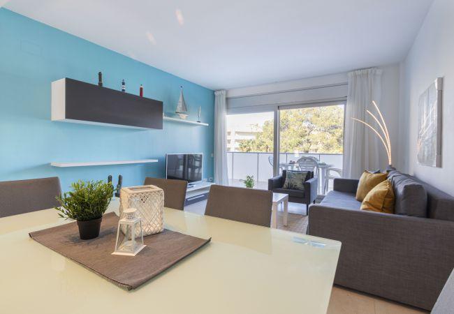 Apartamento en Salou - Apartamento 2 habitaciones con 2 terrazas en planta baja