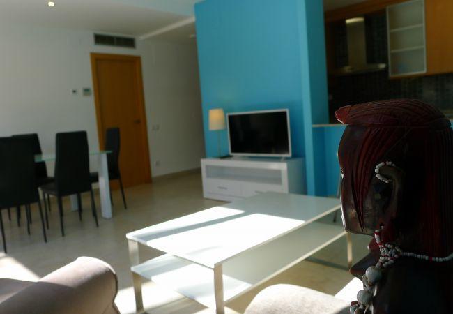 Apartamento en Salou - Precioso apartamento con gran terraza-jardin privada