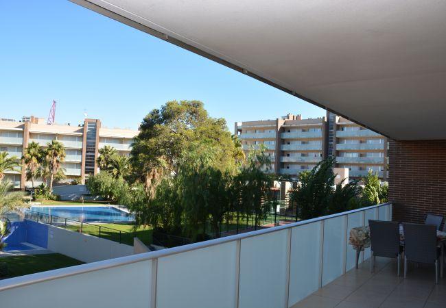 Apartamento en Salou - Apartamento segunda planta con vistas a piscina