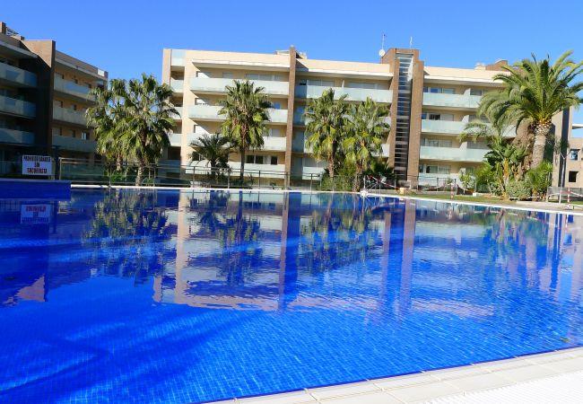 Апартаменты на Salou - Cómodo apartamento con dos terrazas y acceso directo a piscina